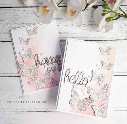 Silhouette UK: Getting more out of patterned paper - Pretty Little Button