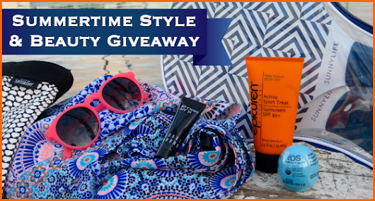 Summertime Style and Beauty Giveaway