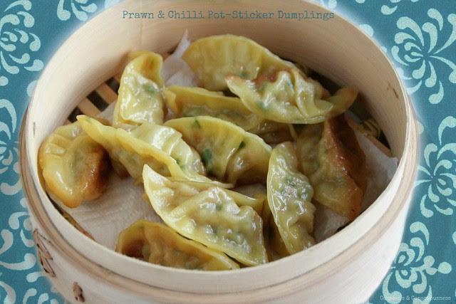 Prawn & Chilli Pot-Sticker Dumplings 2