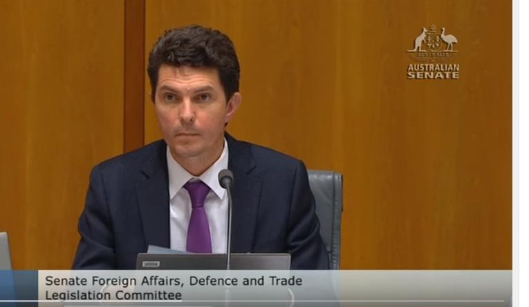 Senador austrália