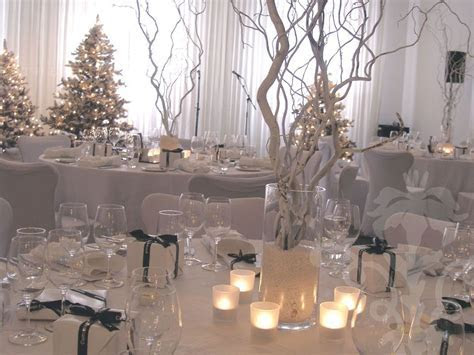winter wonderland wedding centerpieces   Centrepiece