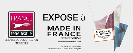 France terre textile sur le salon Made in France by PV