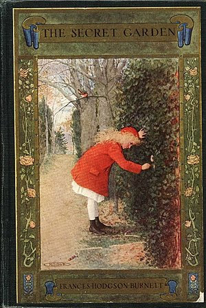 Cover of a 1911 publication of The Secret Garden