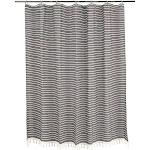 "Cloud Soft Shower Curtain, 72""x72"" / Black"
