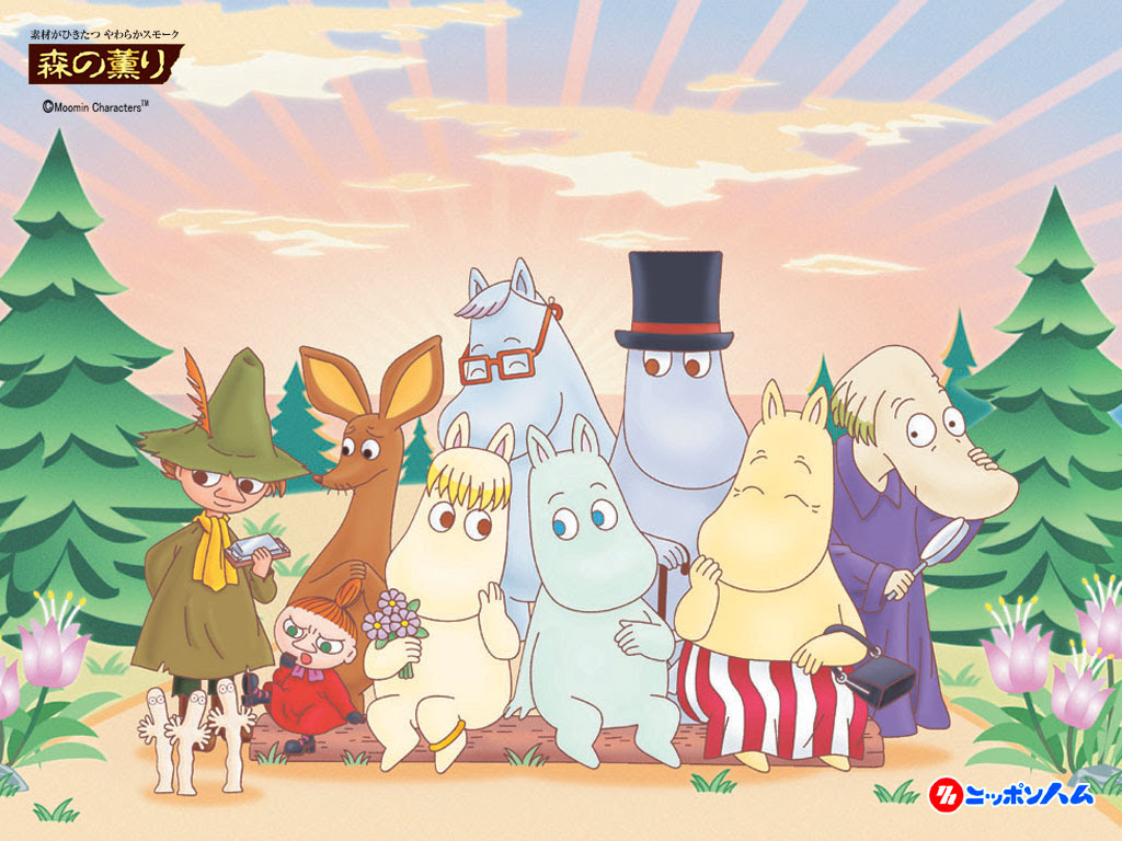 moomin family and friends The Moomins Photo 37430194 Fanpop