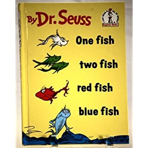 Kinder journey dr seuss days for One fish two fish read aloud