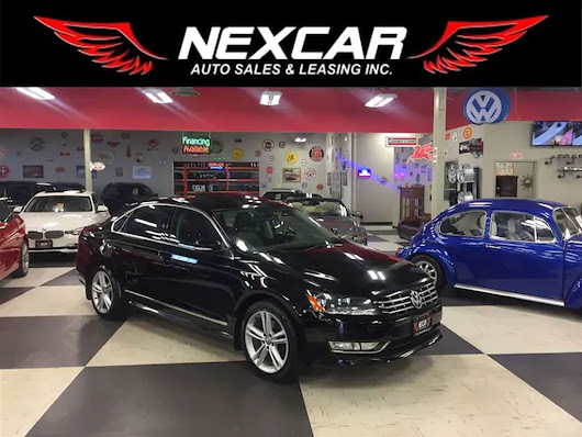 Used 2015 Volkswagen Passat 3.6L Highline Auto Navi Rear Camera Leather 101K - Used Volkswagen for Sale