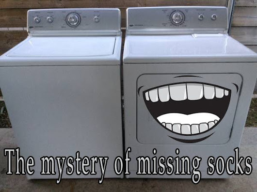 "Best Appliance Guy on Twitter: ""What happens to socks that go missing in the laundry?  Is it the washer or the dryer?  """