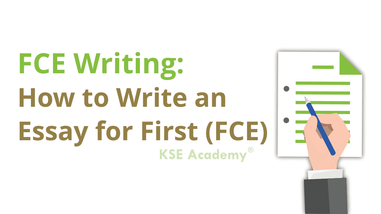 How to write the essay for the New FCE exam?Here's a sample topic that has been divided into paragraphs and each of the sections explained.Let us know whether you have any questions by submitting a comment below.