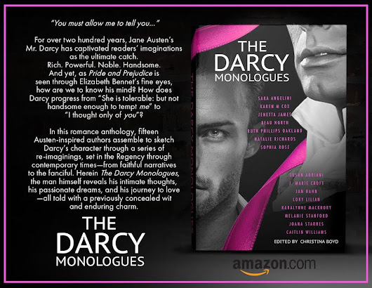 #NewHistoricalFiction - #TheDarcyMonologues