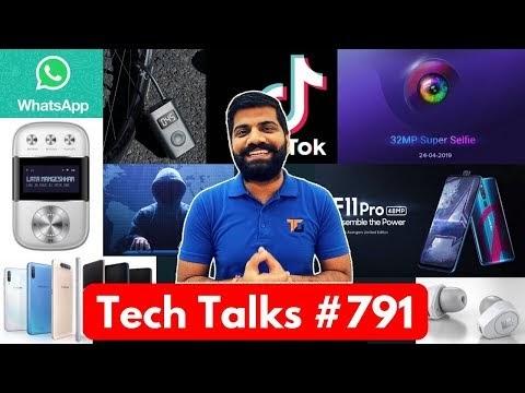 Tech Talks #791 - Redmi Y3 32MP, TikTok Ban, Team India @ NASA, F11 Pro Avengers Endgame