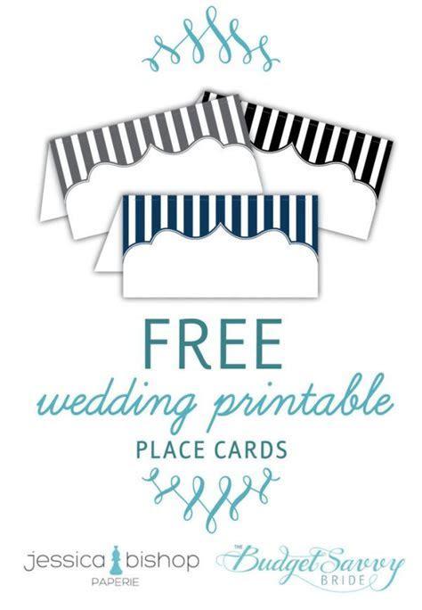 Free Printable Place Cards   Budget wedding, Printable
