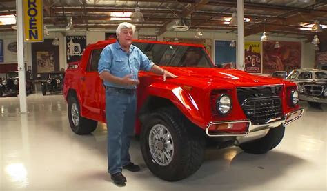 Jay Leno drives the Lamborghini LM002