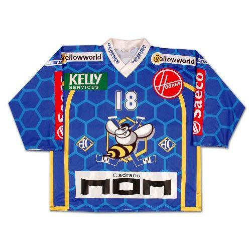HC La Chaux-de-Fonds 01-02 jersey, HC La Chaux-de-Fonds 01-02 jersey