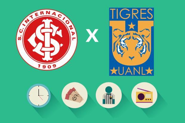 Inter x Tigres: tudo o que você precisa saber para acompanhar a partida Arte ZH/Agência RBS