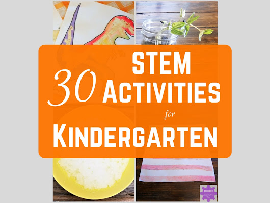 STEM Activities for Kindergarten - From Engineer to Stay at Home Mom