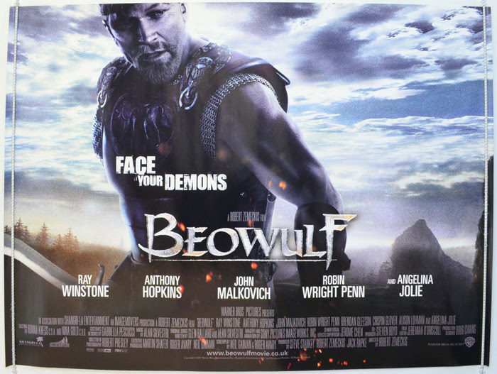 Beowulf - Original Cinema Movie Poster From pastposters.com British Quad Posters and US 1-Sheet ...