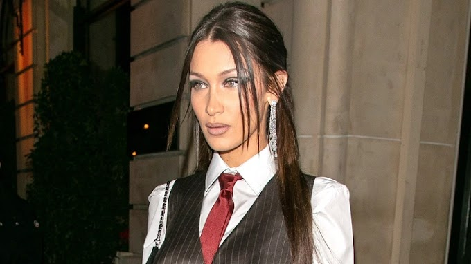 See dress popular model Bella Hadid wore (share thoughts and comments
