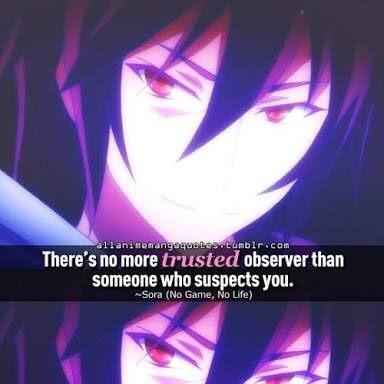Quotes Sora No Game No Life Anime Amino