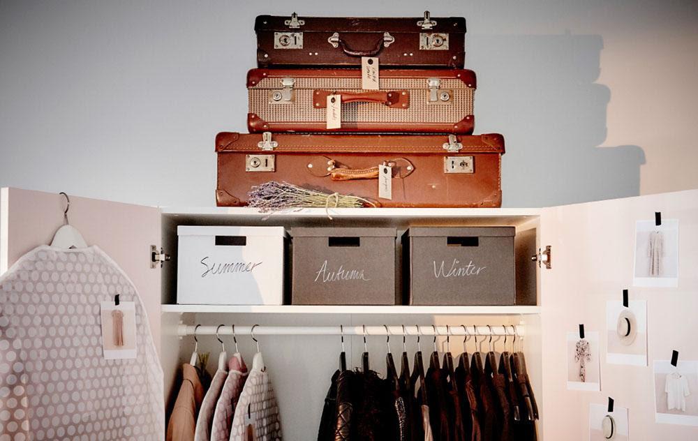 cajas para ordenar ikea armario