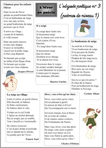 L'hiver en poésie