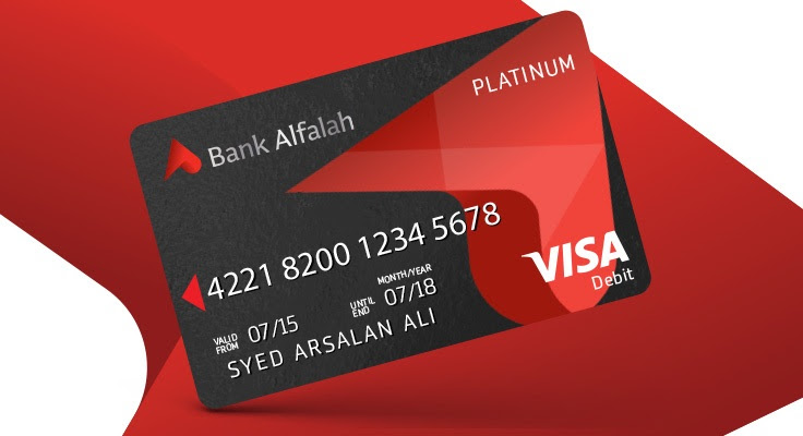 Alfalah Visa Platinum Debit Card - Bank Alfalah