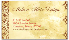 BCS-1036 - salon business card