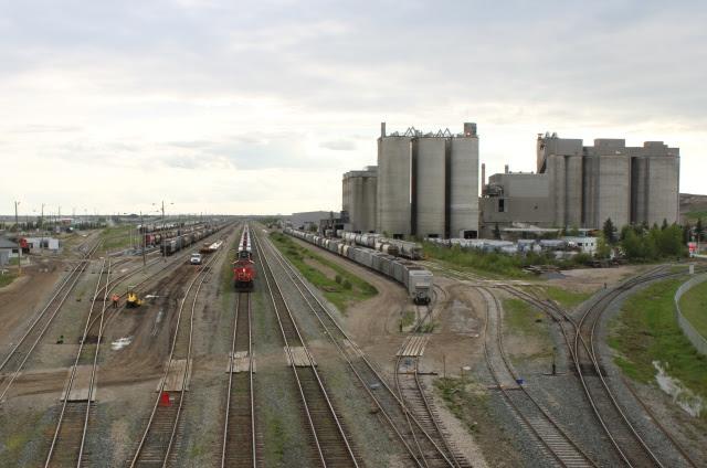 CN Bissel Yard, Edmonton