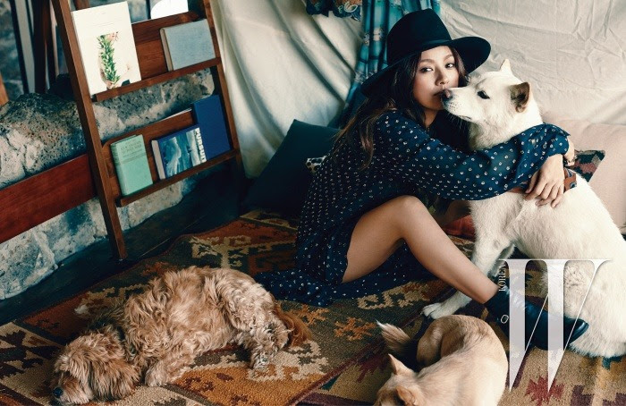 Lee Hyori - W Magazine April Issue '15