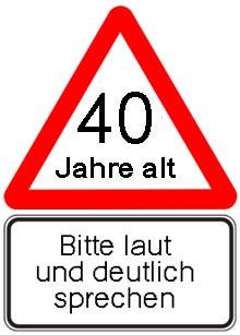 40 Geburtstag Gluckwunsche Lustig