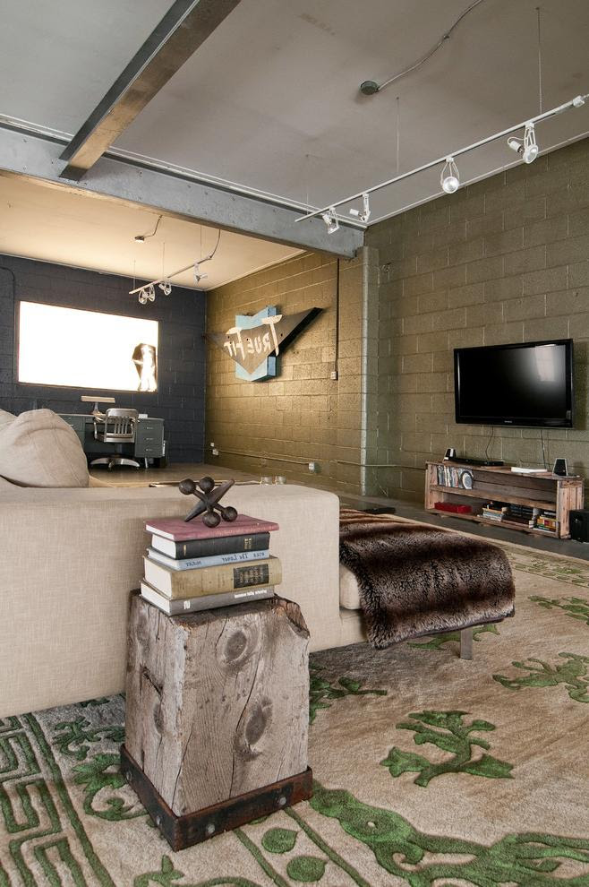 Raw Elegance and Industrial Interior Touches in Utah ...