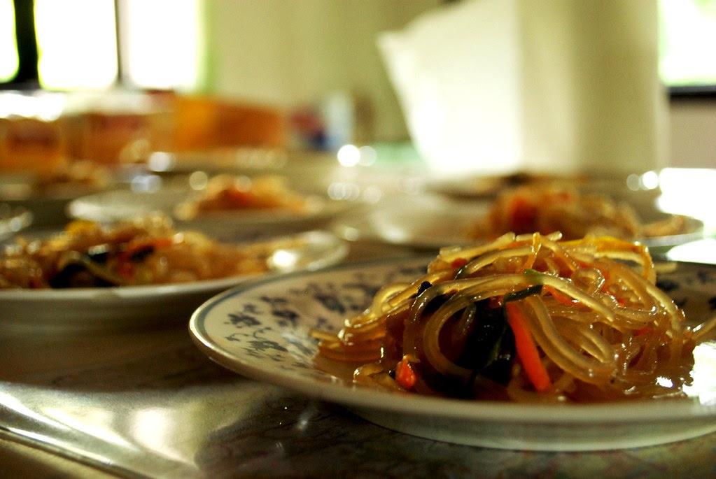 """Burmese bean noodles (""""winter noodles"""") 冬粉"""