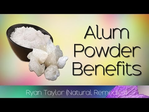 Alum Powder: Uses & Benefits (Fitkari)