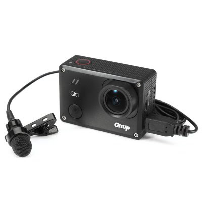 Mini USB Microphone for GitUp Git1 / Git2 / GoPro Hero 3+ / 4 Action Camera-5.98 Online Shopping| GearBest.com