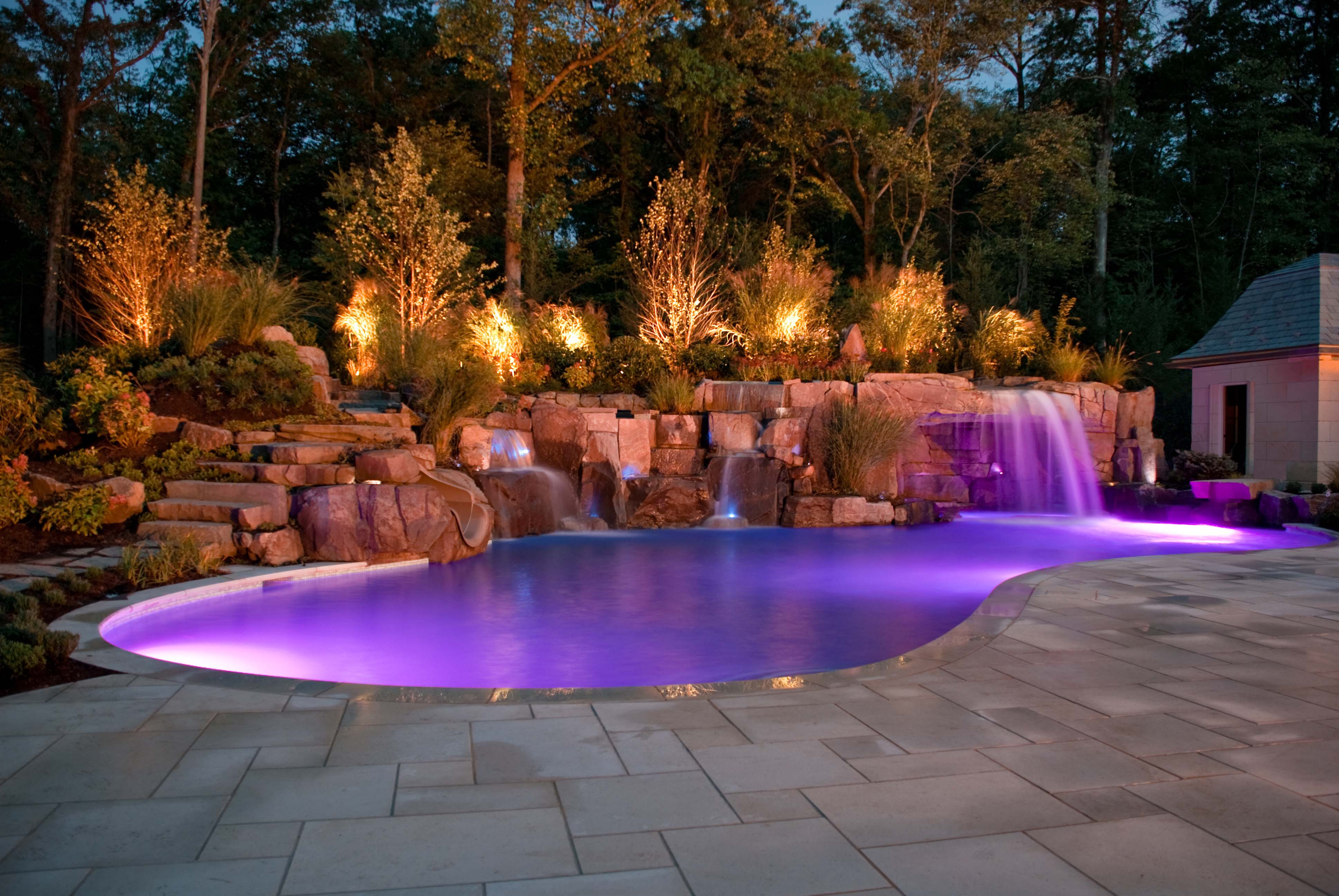 Glass Tile Swimming Pool Designs Earn New Jersey Based Cipriano ...
