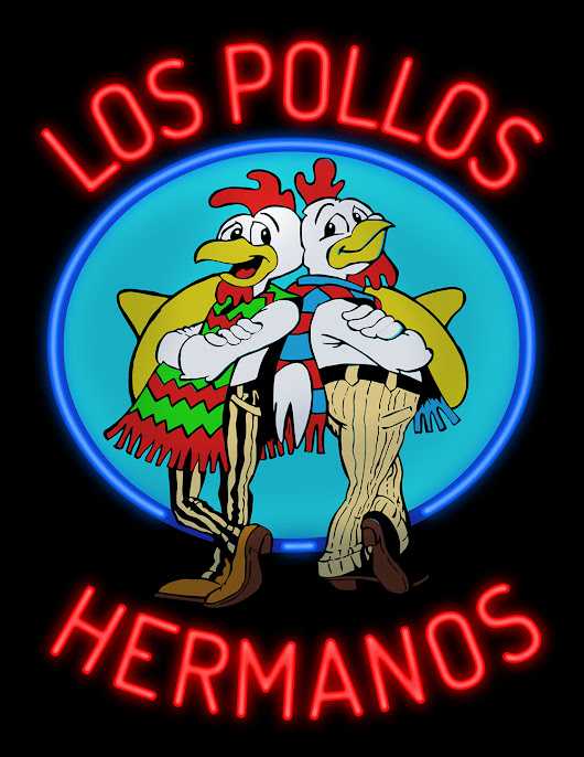 Los Pollos Hermanos Neon Sign from Breaking Bad
