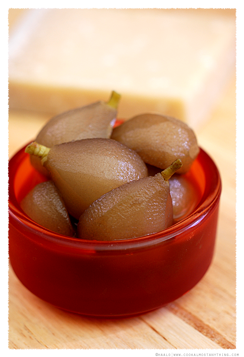 pickled paradise pears© by Haalo
