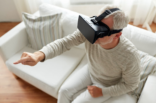 Technology and Virtual Reality Make Senior Fitness Fun
