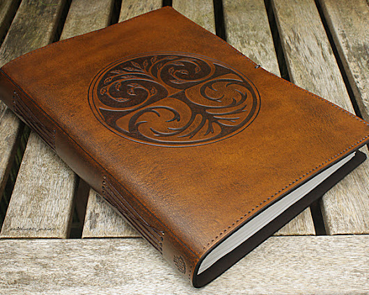 Handmade Leather Journals and Binders from Earthworks Journals