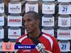 """Copa Paulista de futebol: Macena festeja gol e comemora com o """"Galo sem freio"""""""