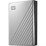 WD My Passport Ultra for Mac 4 TB External HDD - WDBPMV0040BSL - USB 3.0 - USB-C