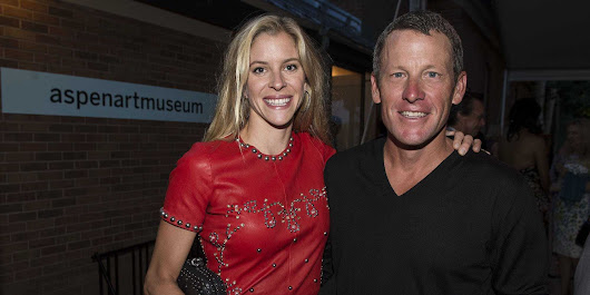 Lance Armstrong allegedly crashed into 2 vehicles and left the scene, and his girlfriend tried to take the blame