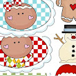 Christmas Cupcake Picks - Printables at NorthPoleChristmas.com
