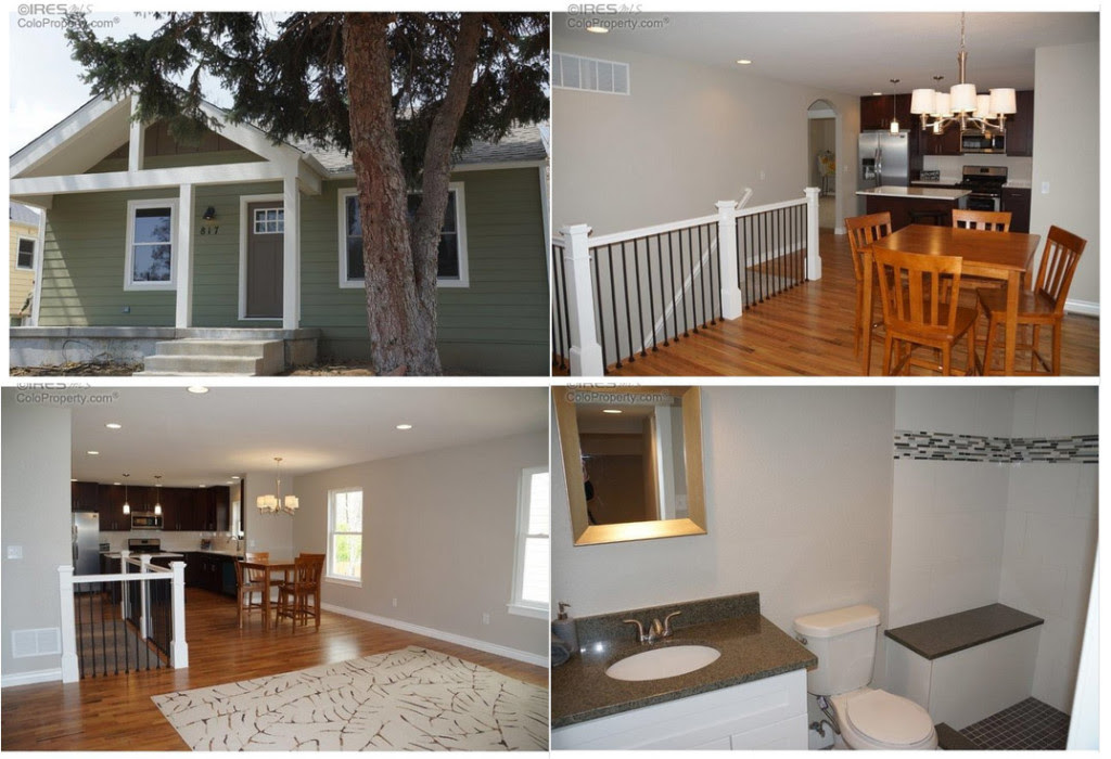Figure 1: These are the actual pictures from a recent $425,000 listing in my area. Four hastily-taken pictures. Seriously?
