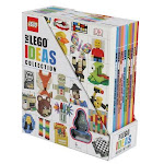 The Lego Ideas Collection: 10-Book Box Set with Figurine