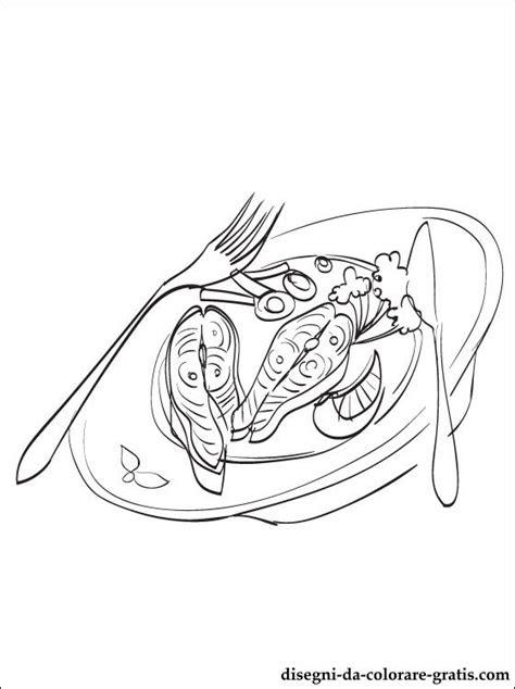 disegno  cena da colorare disegni da colorare gratis