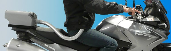 EntroSys motorcycle air conditioning and heating system now taking pre-orders, we wants it