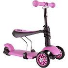 Yvolution Y Glider 3-in-1 Kids Scooter Pink