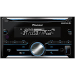 Pioneer Fh-s501bt Double-DIN Receiver with Built-In Bluetooth, Black