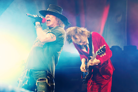 Angus Young pode participar de shows do Guns N' Roses na Austrália
